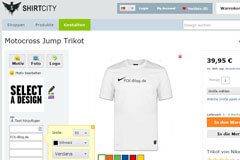 Shirtcity individuelle Trikots drucken