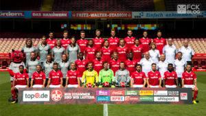 FCK Mannschaft 2017/2018